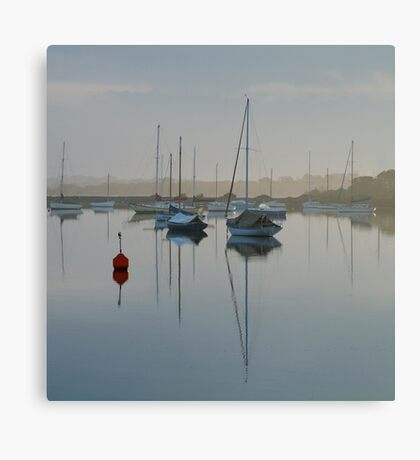 Swan Bay Harbour, Queenscliff Canvas Print