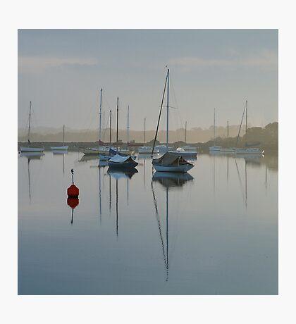 Swan Bay Harbour, Queenscliff Photographic Print