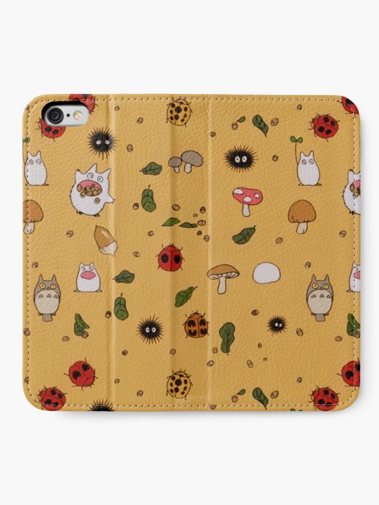 Alternate view of Totoro  iPhone Wallet