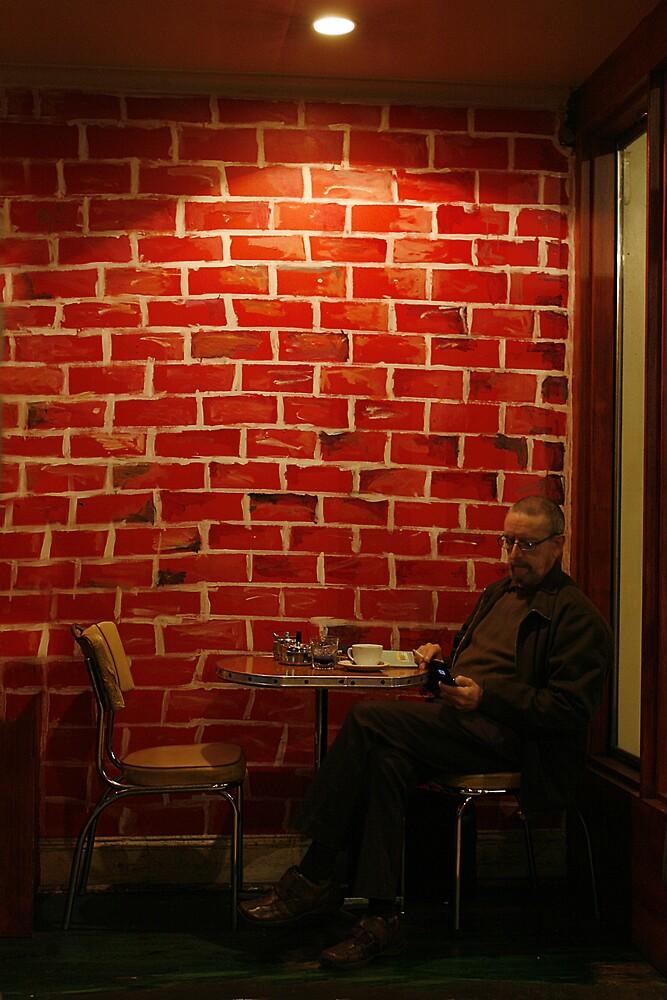 Red Cafe by Belinda  Strodder