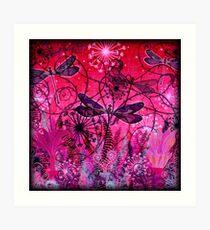 Rose-tinted Glasshouse Art Print