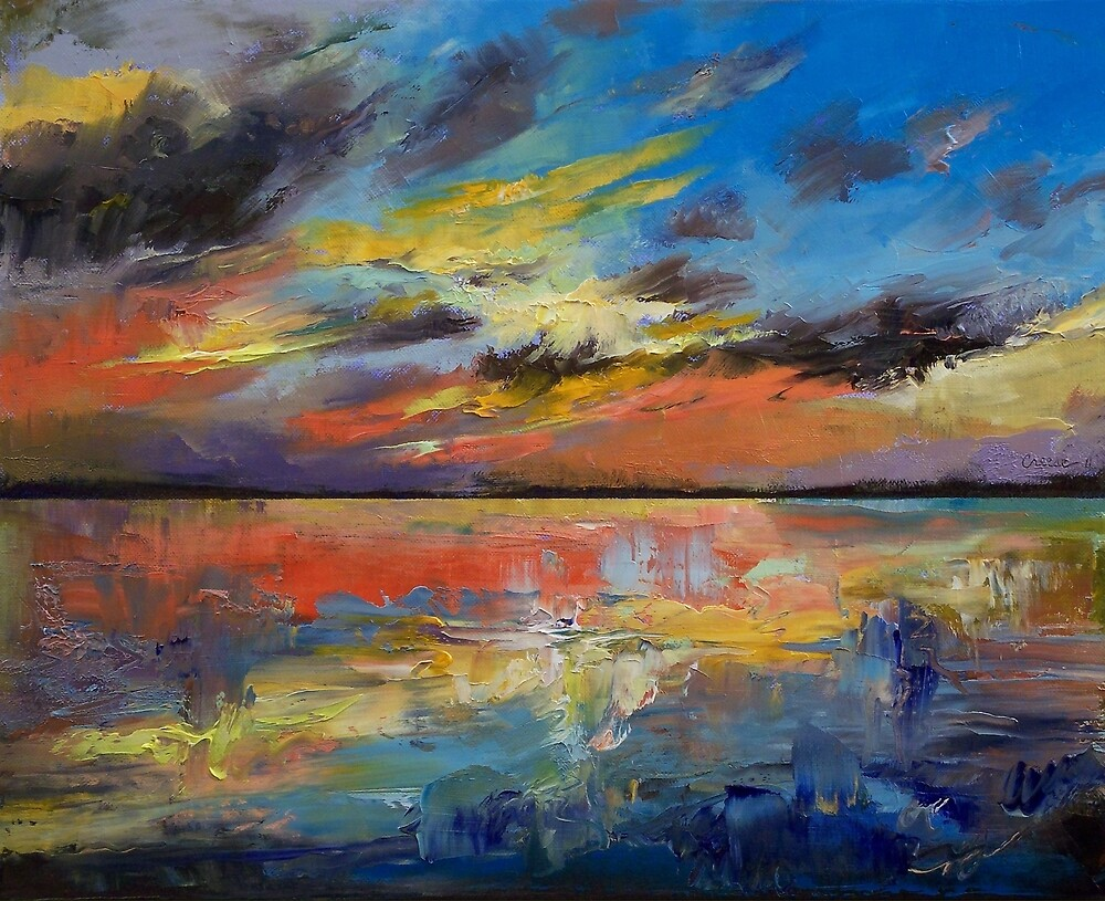 Quot Key West Florida Sunset Quot By Michael Creese Redbubble