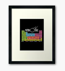 Materia Table Framed Print