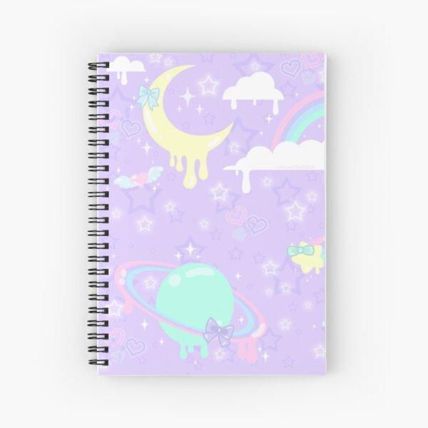 Kawaii Space  Spiral Notebook