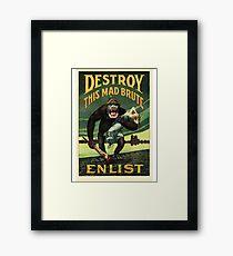 Enlist WWII Framed Print