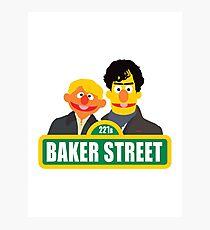 221B Baker Street - Sherlock Photographic Print