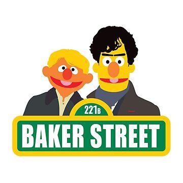 221B Baker Street - Sherlock by Markmaw