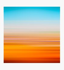Desert lines Photographic Print