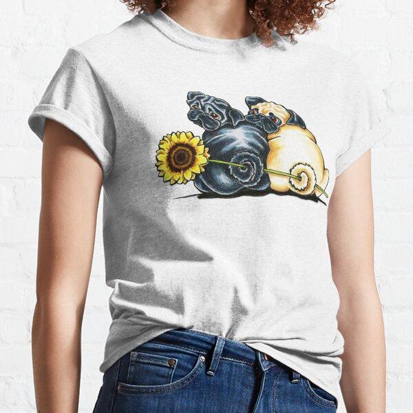 Sunny Pugs Classic T-Shirt