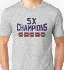 5x Championship Rings T-Shirt