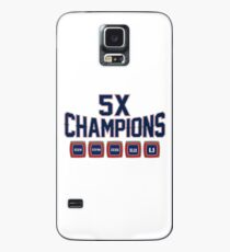 5x Championship Rings Case/Skin for Samsung Galaxy