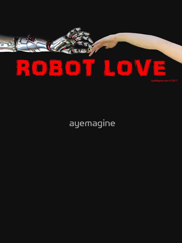 Robot Love by ayemagine