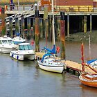 Whitby Harbour by Lesliebc