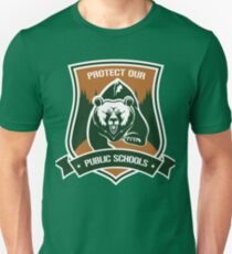 Protect our Public Schools from Grizzly Attacks T-Shirt