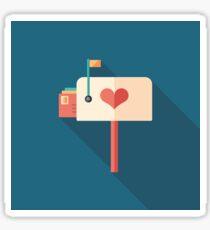 Love Mailbox Sticker