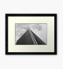 Looking Up v1 - Central District, Hong Kong Framed Print