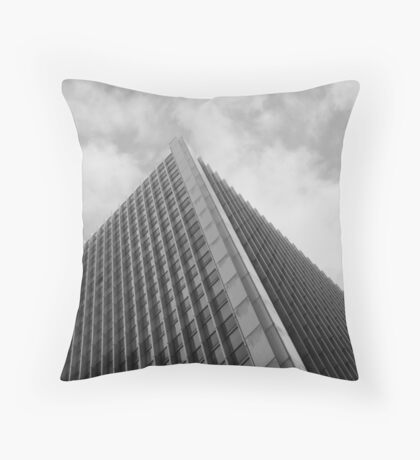 Looking Up v1 - Central District, Hong Kong Throw Pillow
