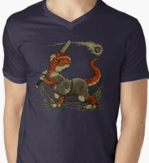Fight The Asteroid Men's V-Neck T-Shirt