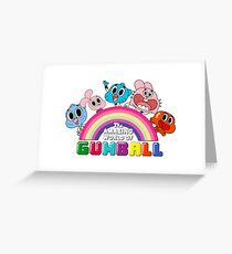 Gumball's World Greeting Card