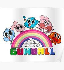 Gumball's World Poster