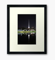 Arts Centre Spire Framed Print