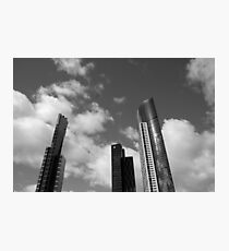 3 Towers Photographic Print