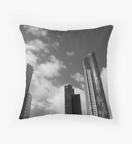 3 Towers Throw Pillow