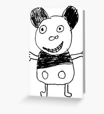 Micky Greeting Card