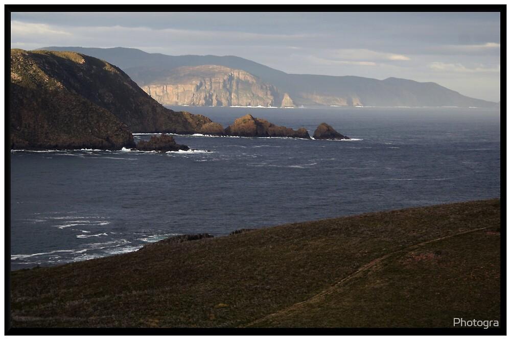Cape Bruny Coastline by Photogra
