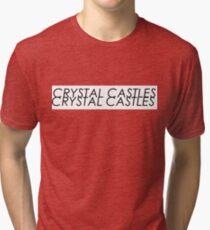 Crystal Castles logo Tri-blend T-Shirt