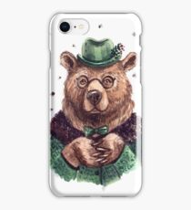 intelligent bear iPhone Case/Skin