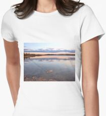 Tranquil Northwest Womens Fitted T-Shirt