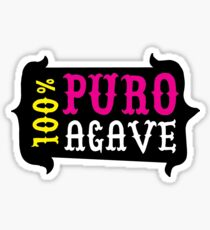 100% Puro Agave  Sticker