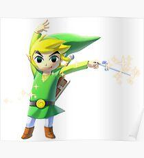 Zelda WindWaker Poster