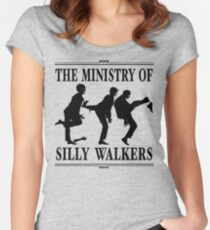 The Ministry of Silly Walkers Women's Fitted Scoop T-Shirt