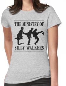 The Ministry of Silly Walkers Womens Fitted T-Shirt