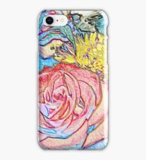 FLOWER MASHUP iPhone Case/Skin