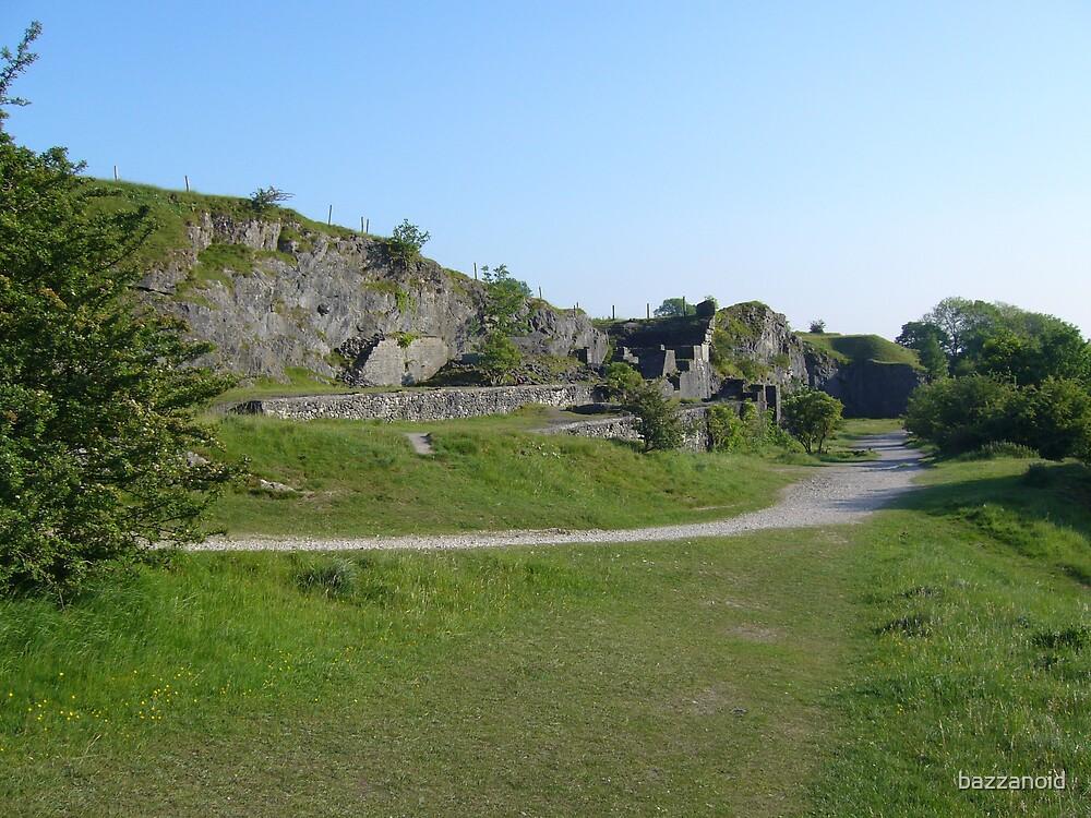 Slate Mine Ruins by bazzanoid