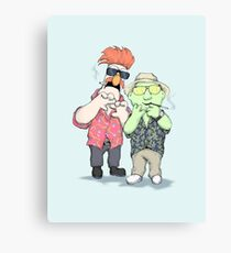 Beaker & Bunsen In Las Vegas Canvas Print