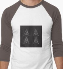 Geometric trees. Modern spruce illustration. Simple hipster design. Minimalist coniferous forest T-Shirt