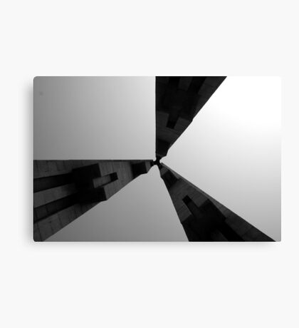 Looking Up v4 - Monument to the People's Heroes, Shanghai Canvas Print