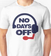 Bill Belichick - No Days Off T-Shirt