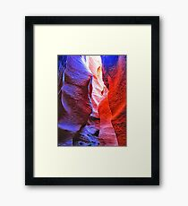 Colors of Spooky Slot Framed Print