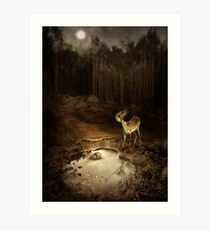 Mysterious Occurring Art Print
