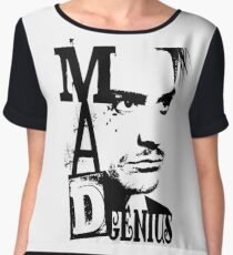 MAD GENIUS Women's Chiffon Top