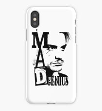 MAD GENIUS iPhone Case/Skin