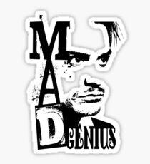 MAD GENIUS Sticker