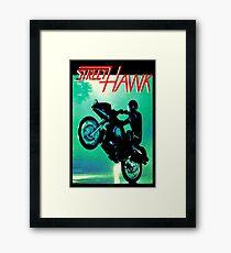 Retro TV Series ' Streethawk '  Framed Print