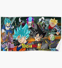 Dragon Ball Super Future Trunks Saga Poster