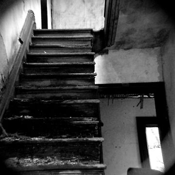 Lonely Stairs by Quigi